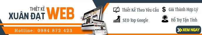 [Xuân Đạt Web] Thiết kế website 690x120